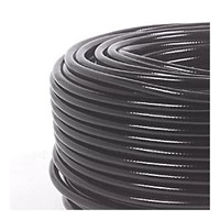 Hose PVC threaded 5X3 black